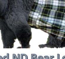 I Survived ND Bear Lock Down Sticker