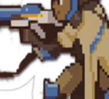 Overwatch ana pixel spray Sticker