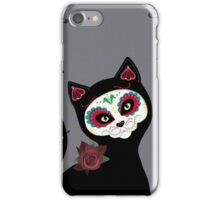 Day of the Dead Cat iPhone Case/Skin