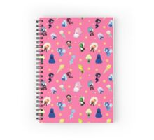 Gems Pattern Spiral Notebook