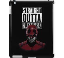 Straight outta Hell iPad Case/Skin