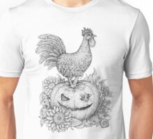 Halloween Rooster (and Mice) :D Unisex T-Shirt
