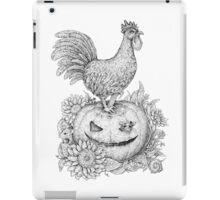 Halloween Rooster (and Mice) :D iPad Case/Skin