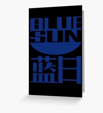 Blue Sun Corporation Greeting Card