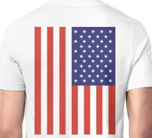 American Flag, FULL COVER, Stars & Stripes, Pure & Simple, America, USA Unisex T-Shirt