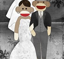 Sock Monkey Wedding by Janet Carlson