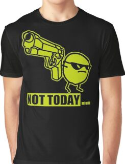 ASDF Movie - Not Today Potato Graphic T-Shirt