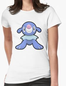 Popplio - Pokemon Sun and Moon Starter (Thick Border) Womens Fitted T-Shirt