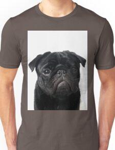 Hugo - The Black Pug Unisex T-Shirt