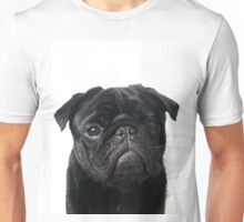 Hugo - The Black Pug Unisex T-Shirt
