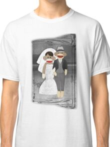 Sock Monkey Wedding Classic T-Shirt