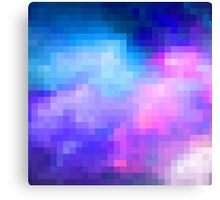space pixel Canvas Print