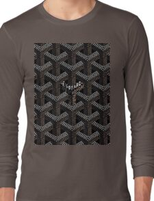 Goyard Black Long Sleeve T-Shirt