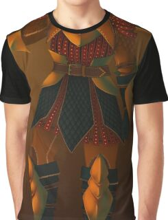 Knight (Close-up and Print) Graphic T-Shirt