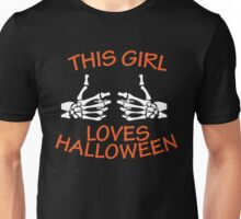 Halloween T-Shirts - This Girl Loves Halloween T-Shirt !!! Unisex T-Shirt