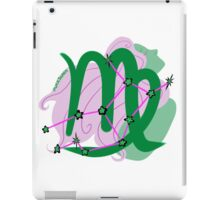 Virgo Star&Sign iPad Case/Skin