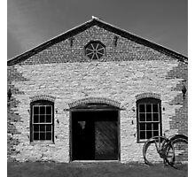 Blacksmith shop Fayette State Park BW Photographic Print