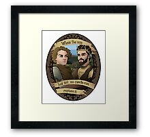 Renly and Loras - Game of Thrones Framed Print