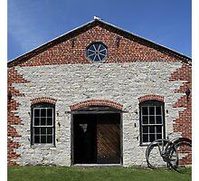 Blacksmith shop Fayette State Park Photographic Print