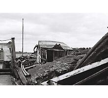 Abandoned Hope at Skippool Creek Photographic Print