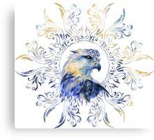 Eagle watercolor illustration Canvas Print