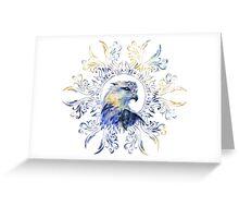 Eagle watercolor illustration Greeting Card