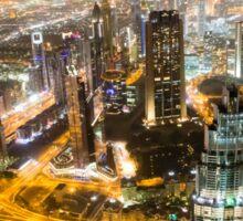 Dubai Cityscape Sticker