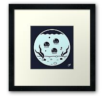 A Home for Jellies Framed Print