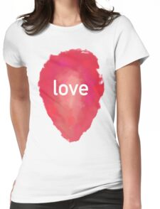 love rca Womens Fitted T-Shirt