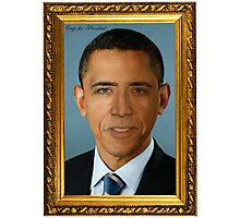 Cage for President Photographic Print