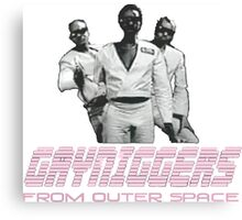 Gayniggers From Outer Space Canvas Print
