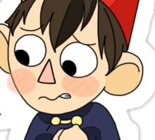 OTGW Redraw - Worry Wirt  Sticker