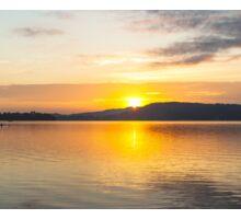 Dawn Water Splendour . Photo Art, Prints, Gifts, and Apparel. Sticker