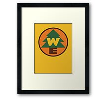 Wilderness Explorer Logo Framed Print