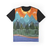 nature & triangles Graphic T-Shirt