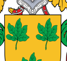 Parra Coat of Arms (Spanish) Sticker