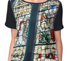Stained Glass Chiffon Top