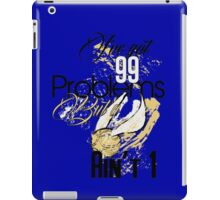 Snitch Problems iPad Case/Skin