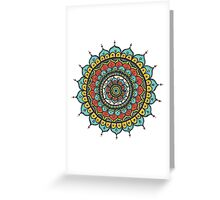 Mandalla 4 Greeting Card