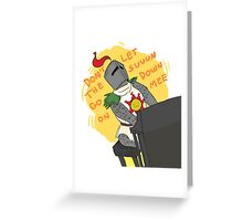 solaire_humor Greeting Card