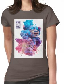 Future Portrait + DS2 Womens Fitted T-Shirt
