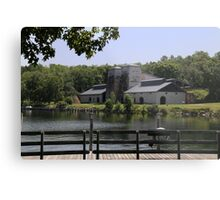 Foundry Building Fayette State Park Metal Print