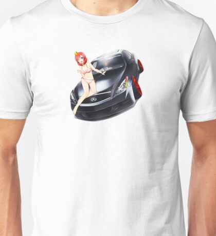 Maki Pose No. 1 G37 Coupe Unisex T-Shirt