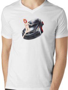 Maki Pose No. 1 G37 Coupe Mens V-Neck T-Shirt