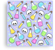 Poisons and Potions Canvas Print