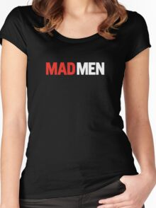 Mad Men Women's Fitted Scoop T-Shirt