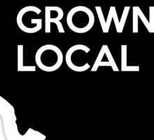 Illinois Grown Local IL Chicago Sticker
