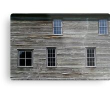 Hotel Detail Fayette State Park Metal Print