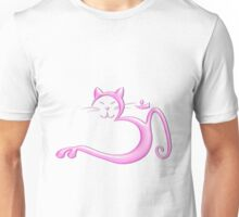 Om Kitty - Bubblegum Unisex T-Shirt