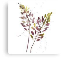 Flowers watercolor illustration Canvas Print